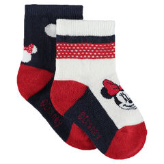 Set of 2 pairs of Disney Minnie Mouse socks