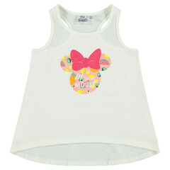 Racerback tank top with Minnie Mouse print