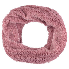 Sparkly sherpa snood