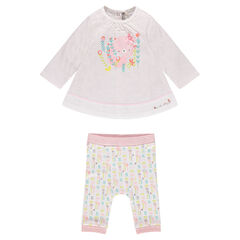 Tunic and leggings newborn ensemble