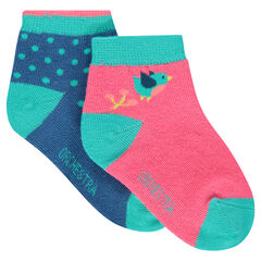 Set of 2 pairs of assorted socks