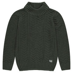 Junior - Knit turtleneck sweater