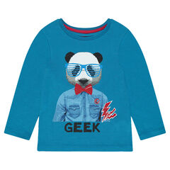 Junior - Long-sleeved T-shirt with fantasy print