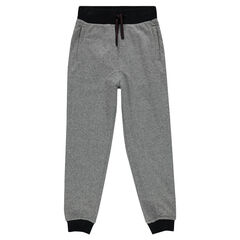 Fleece, low-crotch sweatpants