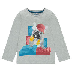 Junior - Long-sleeved T-shirt with fantasy print
