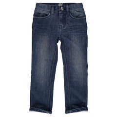 Junior - Straight cut jeans and topstitching