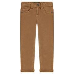 Junior - Slim fit muslin pants