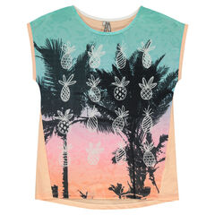 Junior - Short-sleeved tee-shirt with sublimination print