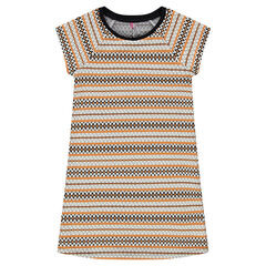 Junior - Jacquard knit dress