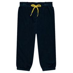 Panne velvet pants