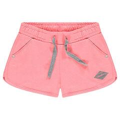 Junior - Plain-colored fleece shorts