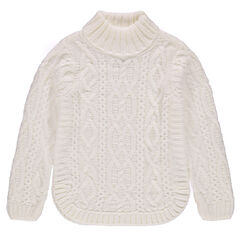 Junior - Chunky knit turtleneck sweater