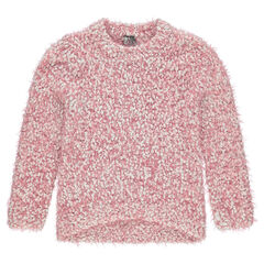 Junior - Fur-effect knit sweater