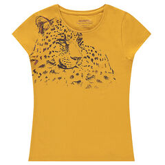 Junior - Short-sleeved tee-shirt with decorative print.
