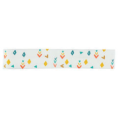 Printed elastic headband