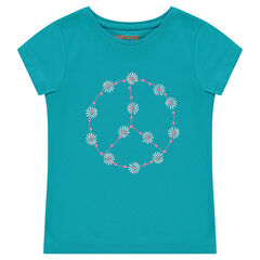 Junior - Short-sleeved tee-shirt with decorative print.