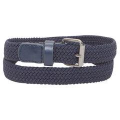 Braided and elasticated belt