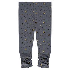 Fine fleece leggings with Disney Minnie Mouse print