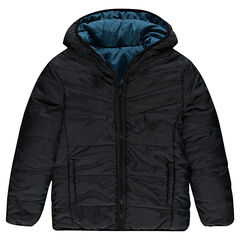 Junior - Reversible hooded down jacket