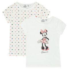 Set of 2 Disney Minnie tee-shirts (undershirts)
