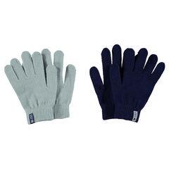 Lot de 2 paires de gants magiques en tricot