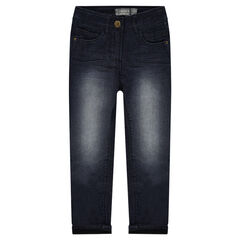 Junior - Jersey-lined regular fitted jeans
