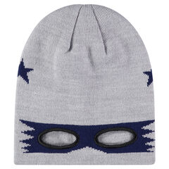 Knit mask cap