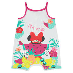 Disney Minnie Mouse short playsuit with exotic print