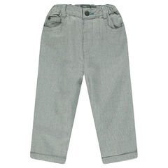 Pants in an original cotton fabric