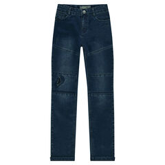 Junior - Slim fit jeans with decorative cuts and tears