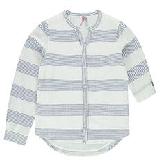 Junior - Striped blouse fit shirt