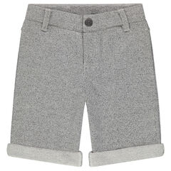 Bermuda shorts in light fleece