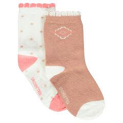 Set of 2 pairs of trendy socks