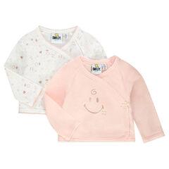 Set of 2 ©Smiley Baby jersey vests