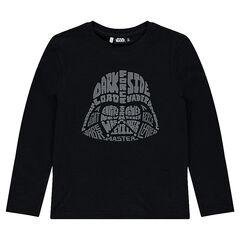Junior - Long-sleeved tee-shirt with Star Wars™ Dark Vador print