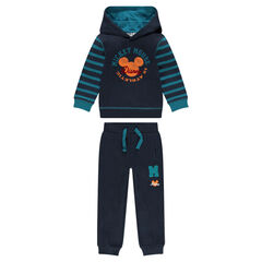 Fleece sweatsuit with Disney Mickey Mouse print