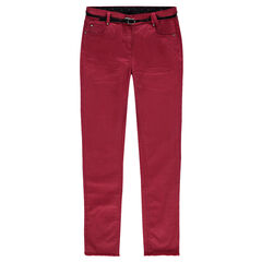 Junior - Slim fit pants in twill