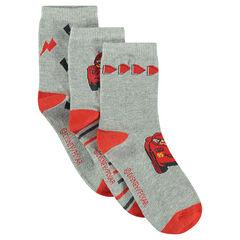 Set of 3 pairs of socks with Disney/Pixar® Cars motif