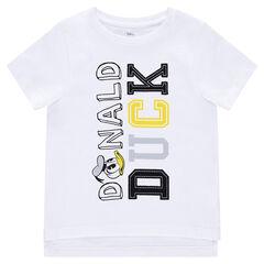 Jersey short sleeve t-shirt Disney Donald print