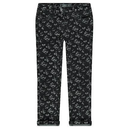 Junior - Printed slim fit jeans