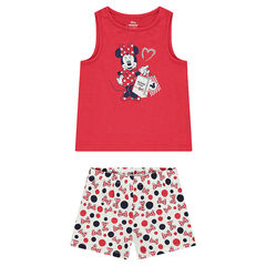 Jersey pajamas with a ©Disney Minnie Mouse print