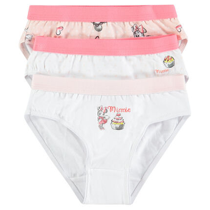 Set of 3 pairs of Disney Minnie underwear