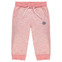Junior - Heathered fleece 3/4 jogging pants