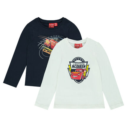 Set of 2 thin turtleneck sweaters in jersey with Disney/Pixar® print