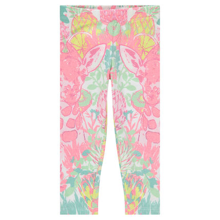 Leggings with sublimation print