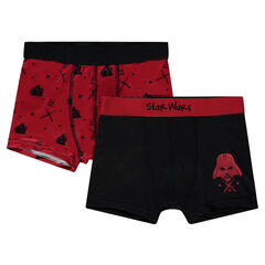 Junior - Pack of 2 Star Wars ™ boxers with Darth Vador print