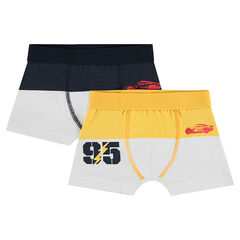 Set of 2 two-tone boxer shorts with a Disney/Pixar® Cars print