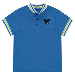 Disney short sleeve polo shirt with embroidered Mickey set