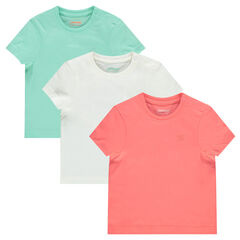Set of 3 short-sleeved tee-shirts