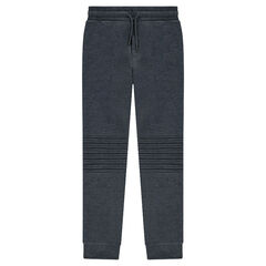 Junior - Sweatpants with topstitching and zippers